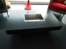 table basse vintage design willy rizzo