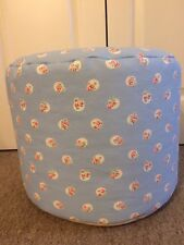 "BEANBAG / POUFFE MADE IN CATH KIDSTON ""FLORAL SPOT"" FABRIC - HAND CRAFTED"