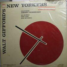 Jazz Sealed Lp Walt Gifford New Yorkers On Delmar
