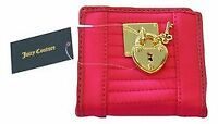 Juicy Couture Pink SFP Quilted Mini Wallet