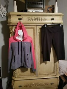 Victoria secret pink Large Hoodie With Yogapants