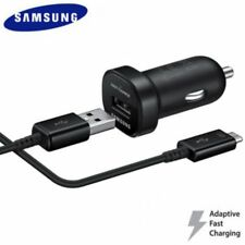 Genuine Samsung mini 11-30V Adaptive fast car charger for Galaxy S8 , S8+, S9,