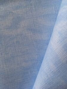 Vintage Azul Mármol 32 Cuentas Zweigart Belfast Lino Tela 50 X 68CM