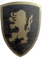 Holzschild für Ritter, Schild aus Holz