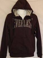 Everlast Hoodie Shirt Sweatshirt Zip Up Vintage MMA Jacket NEW Men's Size Small