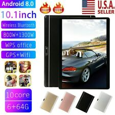 10.1 Inch HD Game Tablet Computer Android 8.0 Ten Core PC GPS Wifi Dual Camera