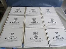 1983 Cadillac Chassis And Body Electrical Wiring Circuit Diagrams Complete Set