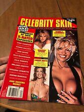 Celebrity Skin Magazine Aug 1995: Pam Anderson, Keith Richards, Crawford