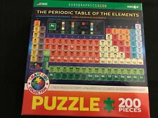 The Periodic Table of the Elements 200 Piece Jigsaw Puzzle Eurographic Kids