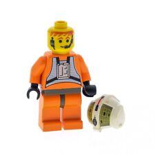 1 x Lego System Figur Star Wars Dutch Vander Y Wing Pilot Torso orange Hüfte alt