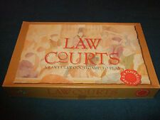 LAW COURTS -FAMILY BOARD GAME -BY BRAND MAKERS INTERNATIONAL 1991