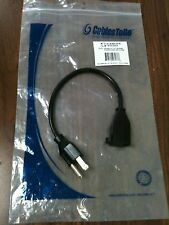 Cables to Go 03137, 1ft 18 AWG Outlet Saver Power Extension Cord (NEMA 5-15P to