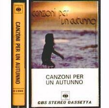 """COMPILATION """" CANZONI PER UN AUTUNNO 1973 """" MUSICASSETTA NUOVA K7 RARA  CBS RARO"""