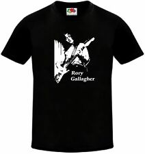 Rory Gallagher-Irisch Rock Blues Gitarrist T-Shirt-Größe-Small bis 5XL