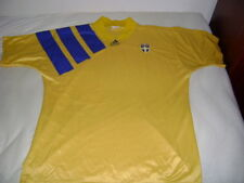Sweden Sverige shirt jersey Adidas XL vintage very rare for collectors 1992/1994