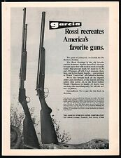 1972 ROSSI Gallery Model .22 Rifle and Overland Double Barrel Shotgun Garcia AD
