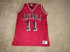 Arcadia Knights Game Used Basketball Jersey - Large