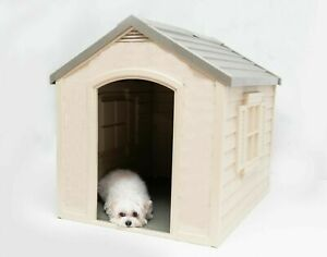 New Houses for Large Dogs Big Pet Puppy Doghouse Kennel Indoor Outside Outdoor