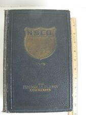 The National Supply Companies Catalog For Oil,Gas,And Water Wells 1930