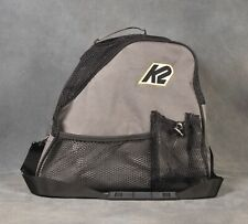 K2 Vented Inline Skate Bag With Carrying Strap - Gray/Black