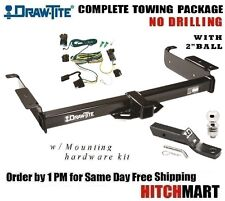"""FITS 2003-2017 CHEVY EXPRESS VAN 2500, TRAILER HITCH PACKAGE w 2"""" BALL   75189"""