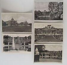 5x alte AK Lot POTSDAM Brandenburg Schloss Castle Sanssouci ~1930/40 ungelaufen