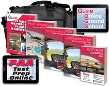 New Gleim Flight/Gound Instructor + FOI Kit w/Online Ground School and Test Prep