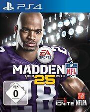 Ps4 Sony PlayStation 4 Game Madden NFL 25 En Ger Boxed