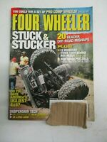 FOUR WHEELER MAGAZINE OCTOBER 2008 JK LONG ARM TRAIL TESTING 20 OFF ROAD MISHAPS