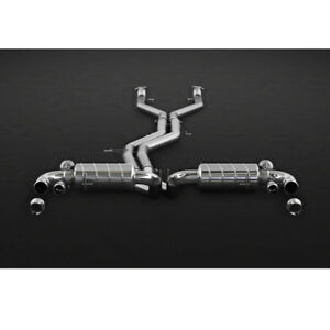 Capristo Bentley Bentayga Complete Valved Exhaust System with CES-3 Remote