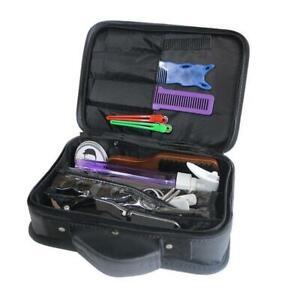 Portable Barber Tools Bag Salon Styling Clipper Comb Scissors Storage Carry Case