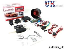 UNIVERSAL CAR SECURITY ALARM SYSTEM IMMOBILISER CENTRAL LOCKING + 2 FOBS KEYS