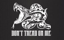 "Dont Tread On Me AR-15 Patriot 6.5"" Vinyl Decal Car Truck Window Veteran Made 2A"