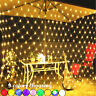 LED Fairy String Light Net Mesh Curtain Wedding Party Tree Gardon Home Store New