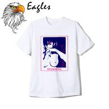 Vintage 90s Madonna Pop Rock T Shirt Band Tour Concert Reprint T Shirt