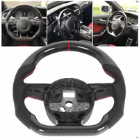 Carbon Fiber Sport Customized Steering Wheel for Audi  S4 S5 RS3 RS4 RS5 RS6 RS7