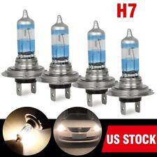2Sets H7 Halogen Bulb 6000K 55W Headlight High Beam Low Beam Super Bright White