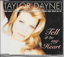 TAYLOR DAYNE - Tell it to my heart CDM 5TR House Synth-Pop 1996 UK (Arista)