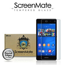 Sony Xperia Z3v Screen Protector - iloome ScreenMate Premium Tempered Glass