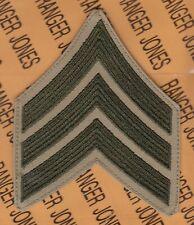 "USMC Marine Corps SERGEANT SGT E-5 rank 4.75"" patch single GTE5"