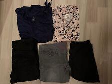 Umstandskleidung Paket Gr. 40 L 5 Teile Schwangerschaft Hose Jeans Shirt Legging