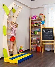 Ladder Kids Playground Set, Indoor Sport Climbing Wall Gym, Fun Playset, 8 Steps