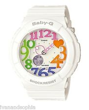 Casio Baby-G * BGA131-7B3 Neon Illuminator Colored Dial White COD PayPal