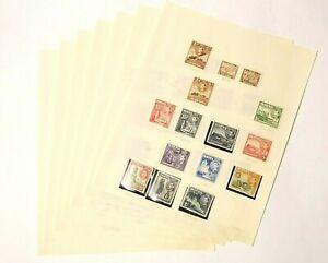 90 Malta Maltese Stamps George VI Elizabeth II Used & Mint 39 Photo's (#1)