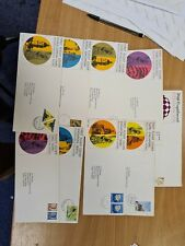 Malaya  Stamps 1967 First Flight Covers with folder Z12