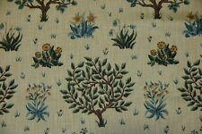 Sanderson Greenwood Vert Sauge Tissu de coton