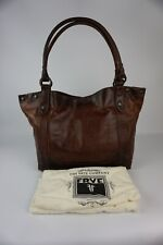 Authentic Frye Melissa Cognac Vintage Leather Shoulder Bag ---NWT $358