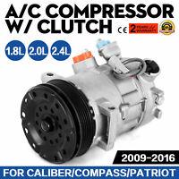 AC Compressor Air Conditioning Compresor fit Dodge Caliber fit Jeep Compass