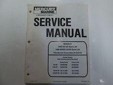 1995 96 Mercury Marine 90 120 95XR 120XR Sport Jet Service Manual 90831996695 x