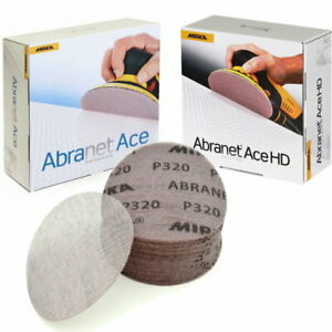 Abranet ACE + ACE HD 150mm Mirka Mix Set - P80 - P400 - 50 Stk.
